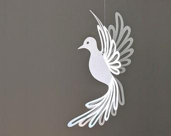 Dove SVG,  Hanging Dove Decoration