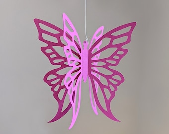 Butterfly SVG, Butterfly Party Decoration, HANGING BUTTERFLY No. 1