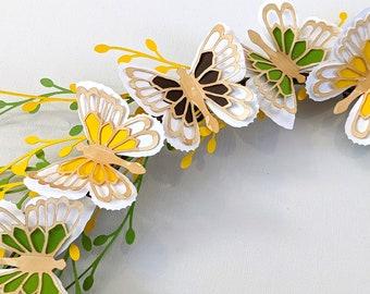 Butterfly SVG, Butterfly Stickers, ABIGAIL