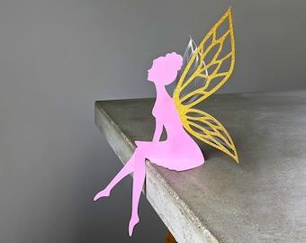 Fairy SVG, Fairy Party Decoration, Table Top Fairy - LIVIA