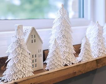 Woodland Christmas Tree SVG