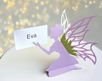 Fairy SVG, Fairy Party Decoration, Place Card Fairy