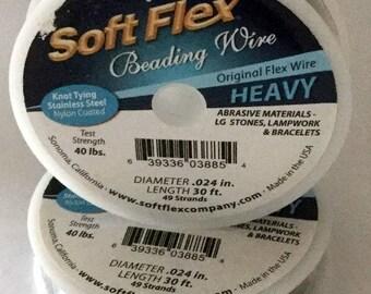 SOFT FLEX  HEAVY .024 30ft