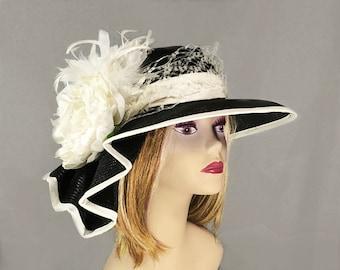 2d415b7d3fdba Black and white hat