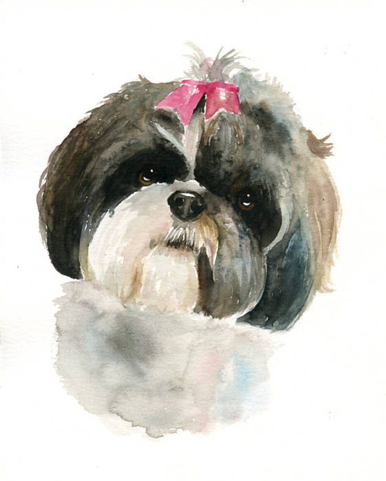 Custom pet portrait Pet portrait memorial custom dog portrait image 0