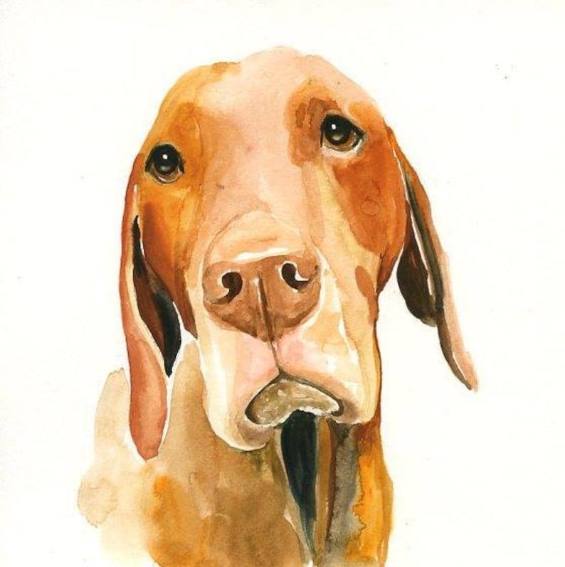 Custom pet portrait Pet portrait painting Pet portrait Custom image 0