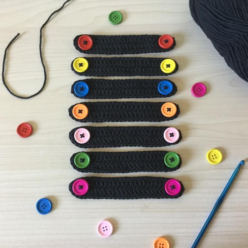Handmade Crochet Ear Saver Face Mask Extender image 0