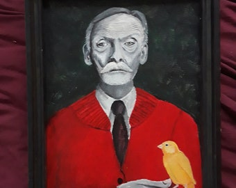 Albert Fish and a canary