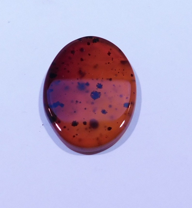 Montana Agate 29x21mm Loose Cabochon