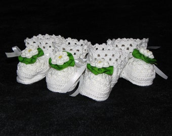 Magnolia Blossom crib shoes perfect for twin Southern belles