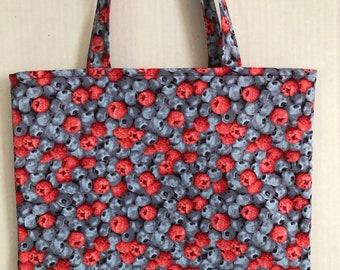 db42e9cd6e FREE SHIPPING-Summer Berries Medium Tote Bag