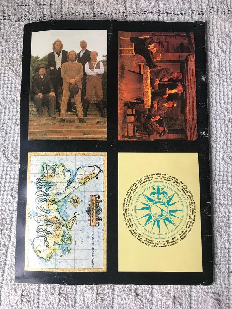 Jethro Tull 1989 Original Rock Island Music Tour Program Illustrated Book