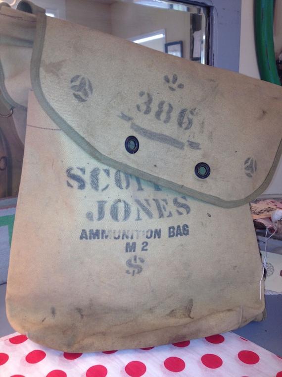 Vintage Ammunition Bag M2 -Troop 386 S Jones