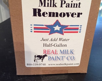 Powdered Milk Paint Remover