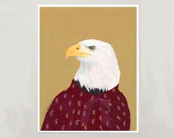 Art Print - Bald Eagle - 4 Sizes - S/M/L/XL