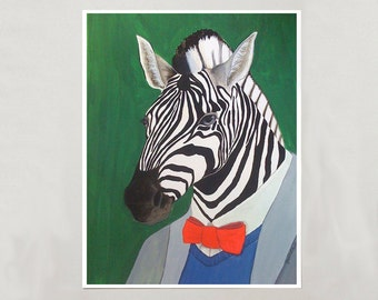Art Print - Zebra - 4 Sizes - S/M/L/XL