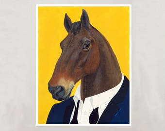 Art Print - Horse - Signed by Artist - 4 Sizes - S/M/L/XL
