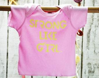 Strong Like Girl Little Power T