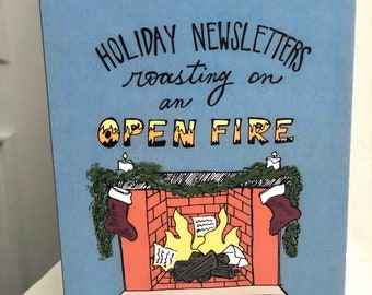 Snarky Christmas Card