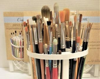 Paint Brush Organizer Caddy   Brush Pencil Pen Organizer   Art Tool Caddy