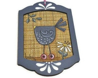 Small Funky Chicken Plaque
