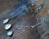 Moondrop Moonstone Necklace Mother's Day Gift
