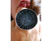 Dollybird Preserved Spider Web Ring 2 inch