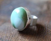 Dollybird Robin Egg Ring Carico Lake American Turquoise Sterling Rare All Natural Color