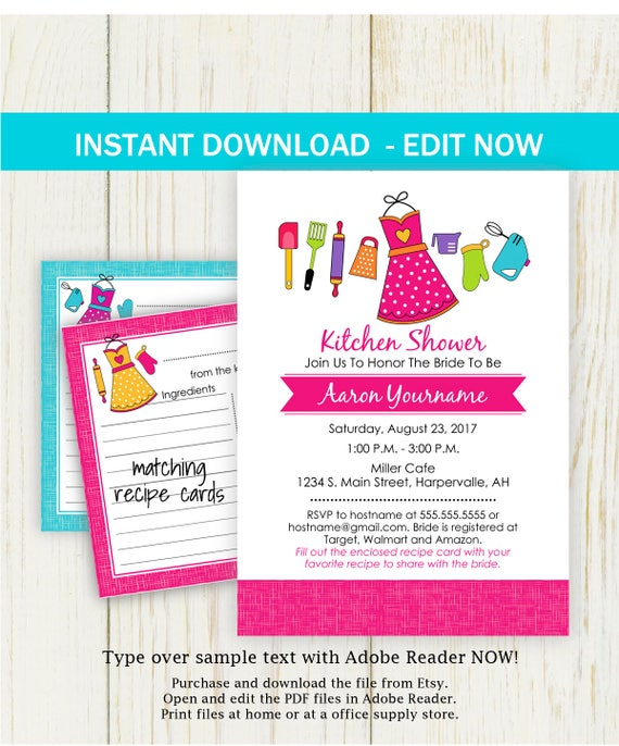 fresh recipe bridal shower invitation wording and 33