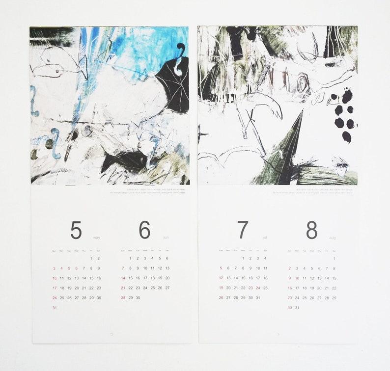 Mayako Nakamura Calendar 2020 Seven Short Stories image 0