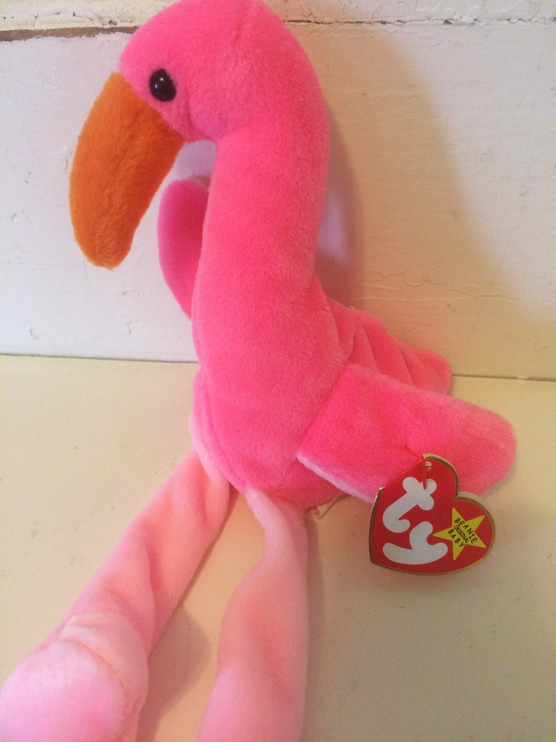 8299f3dc215 Beanie baby pinky the flamingo etsy jpg 794x1059 Seagull beanie baby