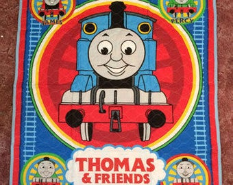 Thomas The Train Baby Quilt