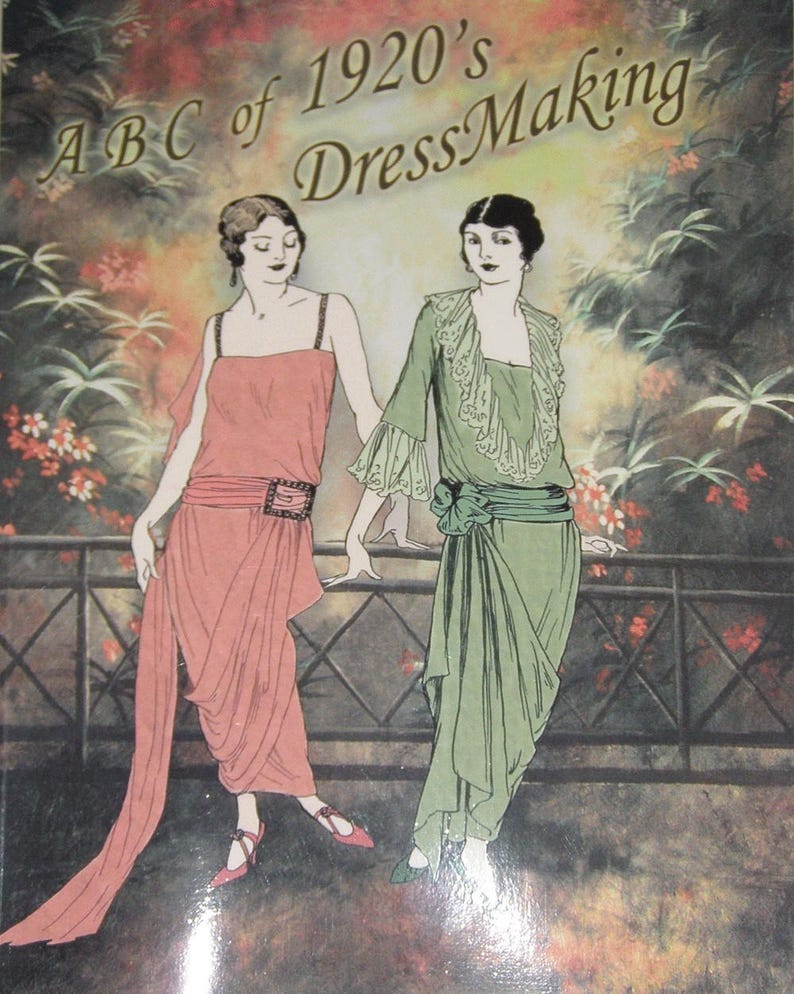 1920s Patterns – Vintage, Reproduction Sewing Patterns 1920s Flapper Dress Sew Vintage 20s Dress Dressmaking for Beginners Gatsby Downton Abbey Miss Fishers Murder Mysteries $8.00 AT vintagedancer.com