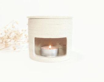 Ceramic essential oil burner , Handmade wax melter , Essential oil diffuser