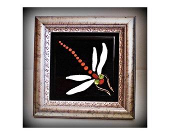 dragonflies   dragonfly decor   dragonfly wall art   dragonfly gifts   framed dragonflies   gift for her dragonfly   dragonfly art deco