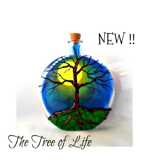 Personalised Ash Urn Tree of Life Unique Cremation Ashes Urn Adult or Pet Urn
