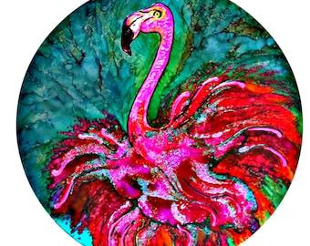 metal Flamingo wall art,  Pink flamingo wall hanging, metal wall art, metal pink flamingo art, pink flamingo metal wall art, flamingo arts
