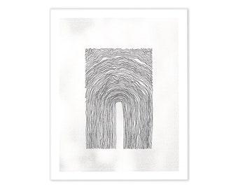 Untitled (#3) - Risograph Print