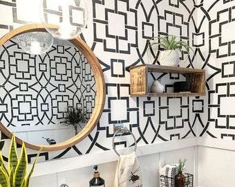 Wall Stencils Tile Stencils Furniture By Cuttingedgestencils