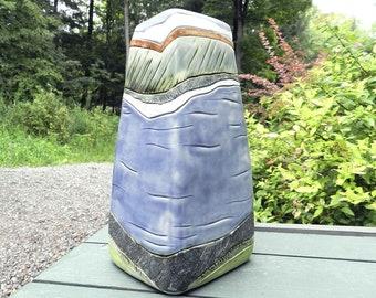 XL Deep River Stoneware Urn