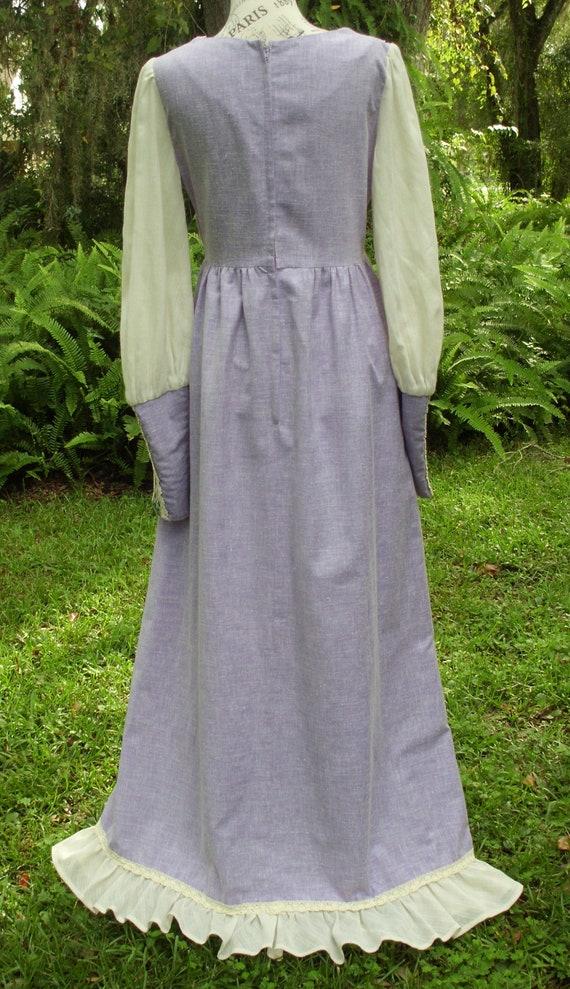 Reserved***Gunne Sax Black Label Dress Ren Style … - image 7