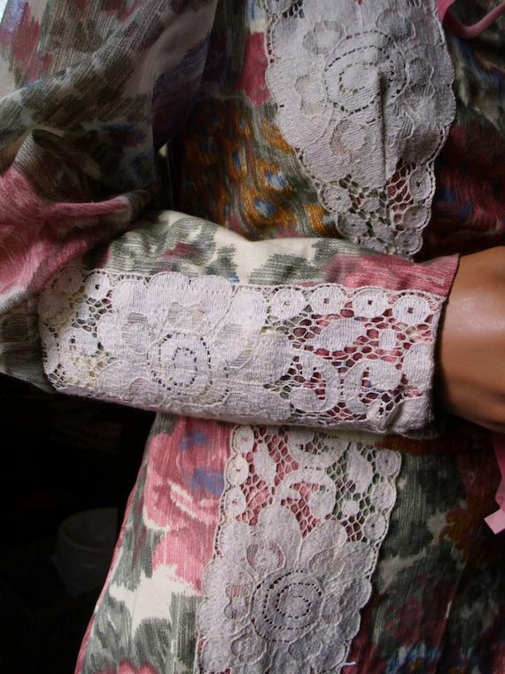 Gunne Sax Ren Style Gown by Vicky Vaughn Vintage 1
