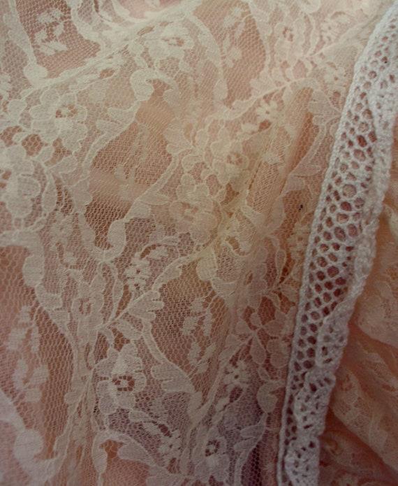 Gunne Sax Dress in Pale Peach Size 13 - image 7
