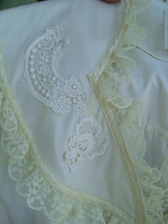 Gunne Sax Blouse 'Lace and Ribbon on the Prairie' - image 7