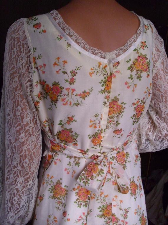 Vintage Gunne Sax Style Gown Department Store Bra… - image 6