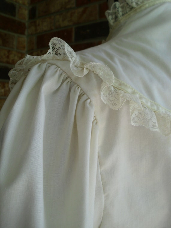 Gunne Sax Blouse 'Lace and Ribbon on the Prairie' - image 5