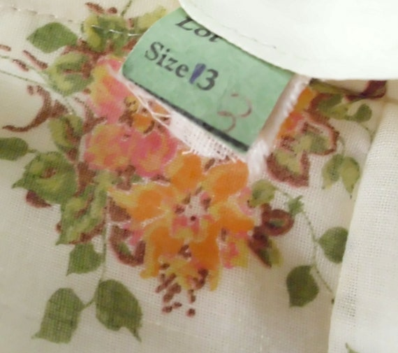 Vintage Gunne Sax Style Gown Department Store Bra… - image 10