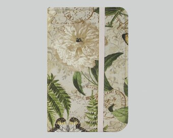 Kindle Paperwhite Cover, Kindle Cover Hardcover, Kindle Case, Kobo, Kindle Voyage, Kindle Fire HD 6 7, Nook GlowLight Fern Rose
