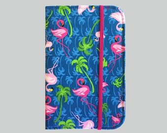 Kindle Cover Hardcover, Kindle Case, eReader, Kobo, Kindle Voyage, Kindle Fire HD 6 7, Kindle Paperwhite, Nook GlowLight Flamingo