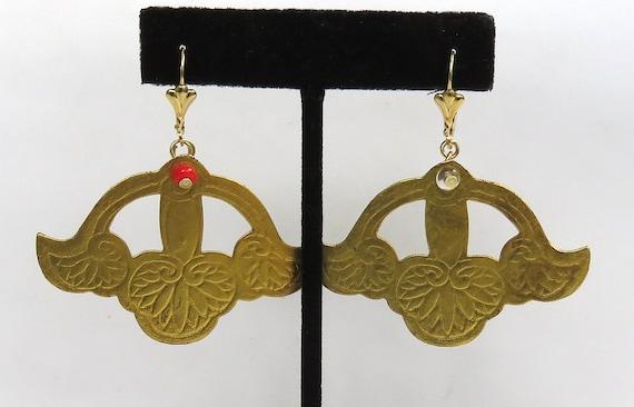 flower of lotus original earrings japoniasntes